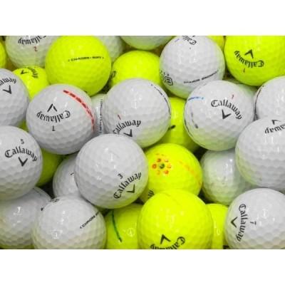 ロストボール キャロウェイ クロームソフト シリーズ 100球セット 当店Dランク 練習用 中古 ゴルフボール