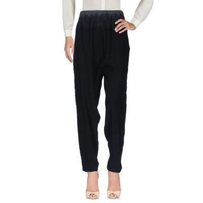 DKNY パンツ ブラック XS レーヨン 100% / ウール パンツ
