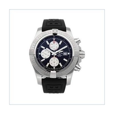 Breitling Super Avenger Mechanical (Automatic) Black Dial Mens Watch A13371111B1S2 (Certified Pre-Owned)並行輸入品