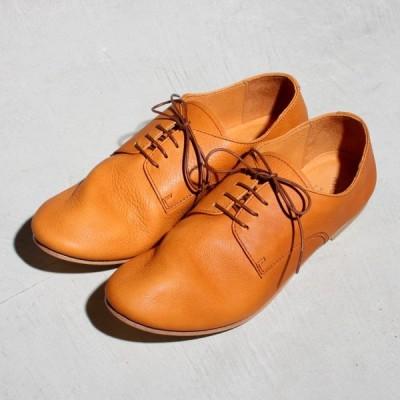 アルコレッタパドローネ 革靴  ARCOLLETTA PADRONE  DERBY DANCE SHOES ダービーダンスシューズ Camel キャメル  2020春夏新作