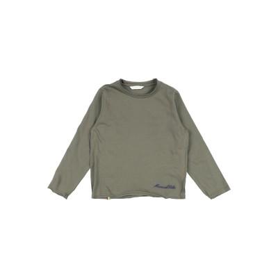 マニュエル リッツ MANUEL RITZ T シャツ ミリタリーグリーン 5 コットン 100% T シャツ