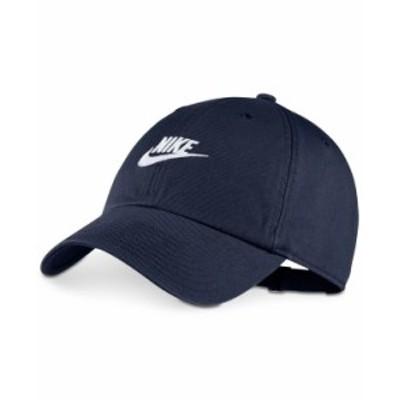 ナイキ メンズ 帽子 アクセサリー Sportswear Futura Twill Hat Obsidian White
