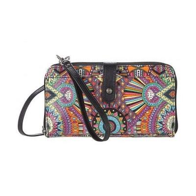 Sakroots レディース 女性用 ファッション雑貨 小物 財布 携帯ケース カードケース Artist Circle Large Smartphone Crossbody - Rainbow Wanderlust