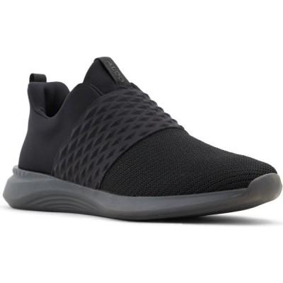 アルド ALDO メンズ スリッポン・フラット スニーカー シューズ・靴 RPPL Clear Slip-On Sneaker Black/Black