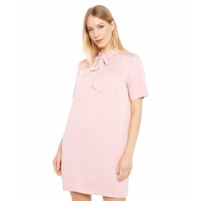 ビーシービージーマックスアズリア ワンピース トップス レディース Short Sleeve Woven Dress Pink Rose