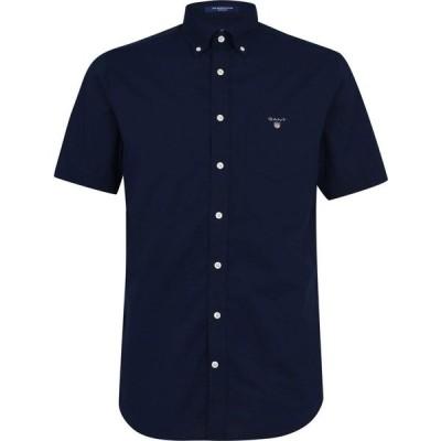 ガント Gant メンズ シャツ トップス Broadcloth Shirt Navy