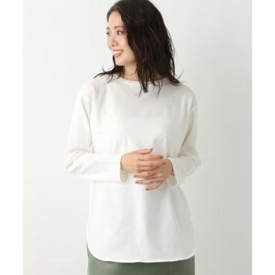 tシャツ Tシャツ ラウンドヘムロンT926695