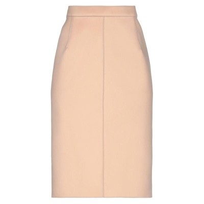 N°21 ひざ丈スカート  レディースファッション  ボトムス  スカート  ロング、マキシ丈スカート ローズピンク