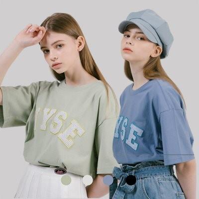 【韓国公式ブランド WYSE】M~L♡ ロゴティーシャツ♡ #ストリート風 #ガーリーなコーデ #トレンドライクな大人女子コーデ