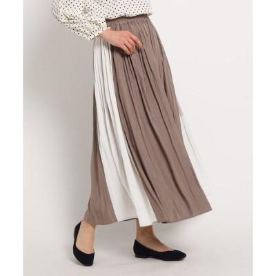 Dessin / デッサン 【XS〜Lサイズあり・洗える】パウダーサテン切り替えスカート