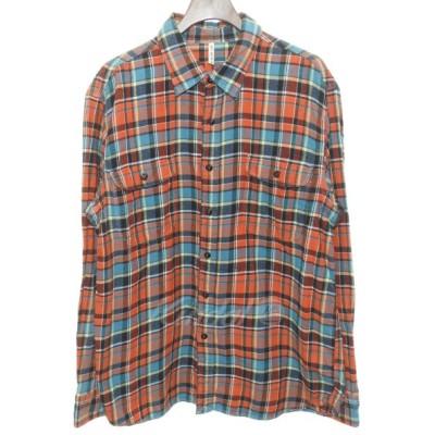 KATO チェックシャツ レッド サイズ:L (明石店) 180429