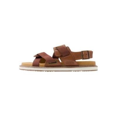 キーン レディース スポーツ用品 LANA Z-STRAP - Walking sandals - tortoise shell/silver birch