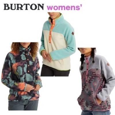 バートン フリース レディース Women's Hearth Pullover Fleece プルオーバー スナップボタン 2020 SS 春夏 正規品