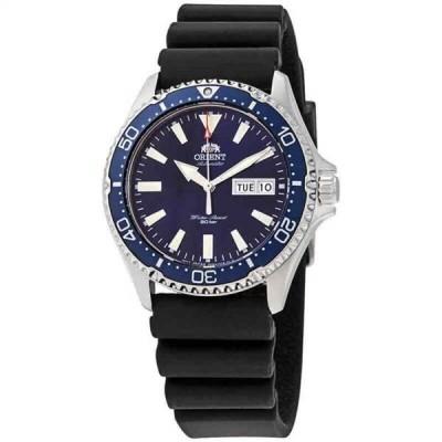 腕時計 オリエント メンズ Orient Mako III Automatic Blue Dial Men's Watch RA-AA0006L19B