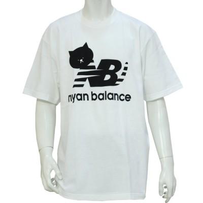 ニャンバランス 半袖 Tシャツ ブランド パロディー おもしろ メンズ レディース ユニセックス