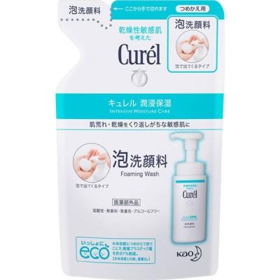 キュレル 潤浸保湿 泡洗顔料 詰替え用 130ml 洗顔 ソープ 泡 敏感肌 低刺激 curel 花王