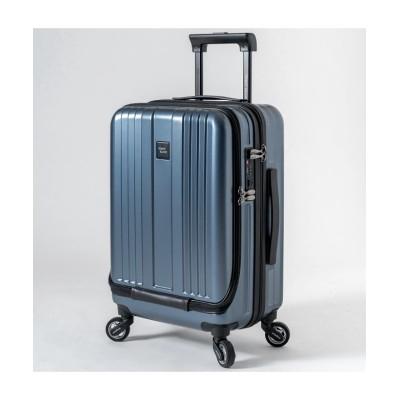 【カバンのセレクション】 リージェントスクエア スーツケース 機内持ち込み フロントオープン 軽量 Sサイズ 39L ビジネス 出張 Regent Square ユニセックス ネイビー フリー Bag&Luggage SELECTION