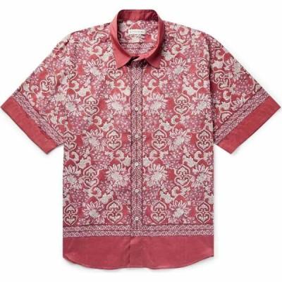 エトロ ETRO メンズ シャツ トップス Patterned Shirt Red