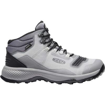 キーン Keen メンズ ハイキング・登山 ブーツ シューズ・靴 KEEN Tempo Flex Mid Waterproof Boot Drizzle/Black