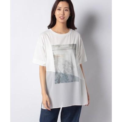 【ブージュルード】プリントゆるさらTシャツ