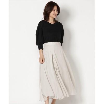 Swingle / アシメドレープスカート WOMEN スカート > スカート