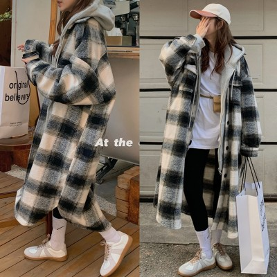 2020 韓国ファッション 冬 新作ロング丈 アウター コート良質生地 レディース通勤/ 可愛い 長袖  9N380