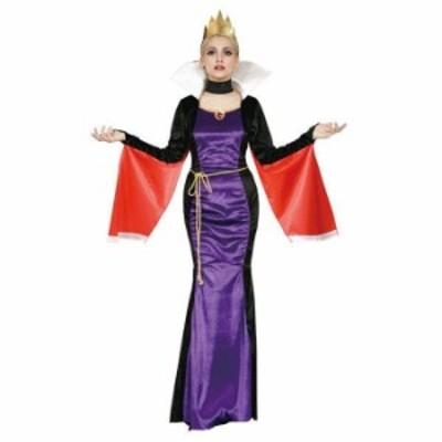 ハロウィン 仮装 大人 コスチューム レディース VILLAINS Costume Adult Evil Queen エビルクイ