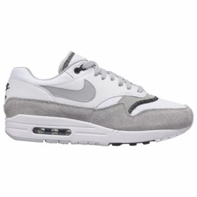 ナイキ メンズ エアマックス1 Nike Air Max 1 スニーカー White/Wolf Grey/Black