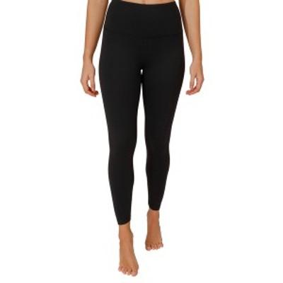 90ディグリー レディース レギンス ボトムス Power Flex Fleece Lined High Rise Ankle Legging BLACK