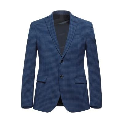 LIU •JO MAN テーラードジャケット ブルー 46 ポリエステル 90% / レーヨン 8% / ポリウレタン 2% テーラードジャケット