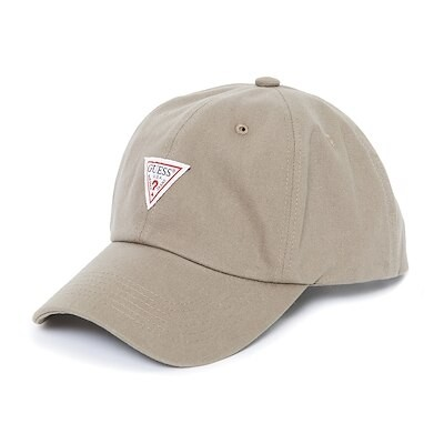 [GUESS] TRIANGLE LOGO 6PANEL CAP (ゲス トライアングルロゴ 6パネルキャップ)