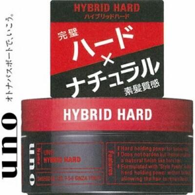 UNOウーノ ハイブリッドハード 80g 【 資生堂 UNOウーノ 】 [ 男性化粧品 整髪料 スタイリング剤 おすすめ ]