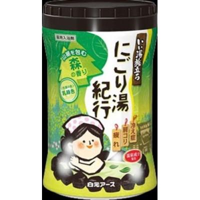 いい湯旅立ちボトル にごり湯紀行森の香り 600g