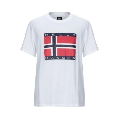 HELLY HANSEN x SANDRO T シャツ ホワイト M コットン 100% T シャツ