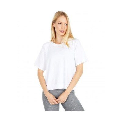 Beyond Yoga ビヨンドヨガ レディース 女性用 ファッション パーカー スウェット Solid Choice Short Sleeve Pullover - White