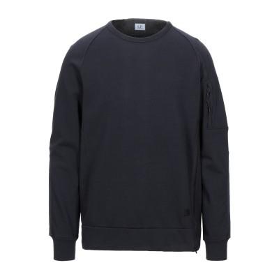 シーピーカンパニー C.P. COMPANY スウェットシャツ ダークブルー S コットン 100% スウェットシャツ
