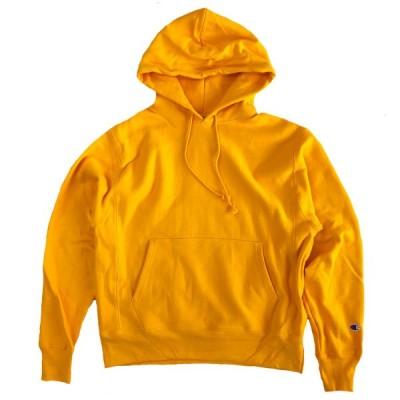 Champion Reverse Weave12oz. Pullover Hood  C GOLD イエロー チャンピオン リバースウィーブ  スウェット パーカー