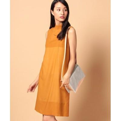 【ビューティフルピープル】 wool voilelayered like dress レディース オレンジ 36 beautifulpeople