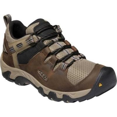 キーン ブーツ&レインブーツ シューズ メンズ Steens Vent Hiking Boot (Men's) Canteen/Brindle