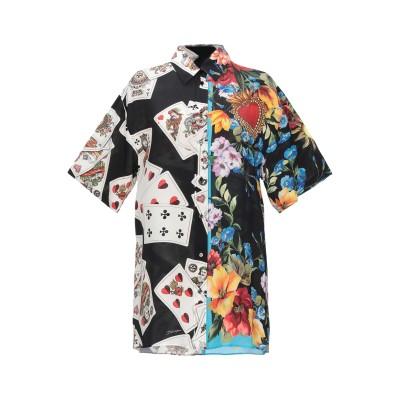 ドルチェ & ガッバーナ DOLCE & GABBANA シャツ ブラック 36 シルク 100% シャツ