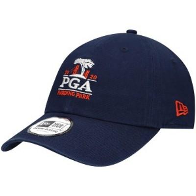 ニューエラ レディース 帽子 アクセサリー 2020 PGA Championship New Era Women's Casual Classic 9TWENTY Adjustable Hat Navy