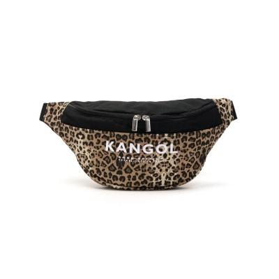 【ギャレリア】 カンゴール ウエストバッグ ウエストポーチ KANGOL Bardot バッグ ボディバッグ 斜めがけ 小さめ 250-2000 ユニセックス ブラウン F GALLERIA