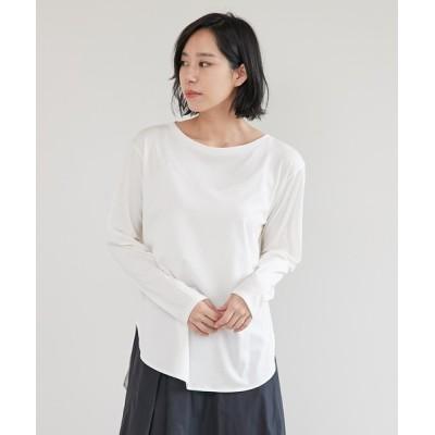GALLARDAGALANTE / ラウンドヘムTシャツ WOMEN トップス > Tシャツ/カットソー