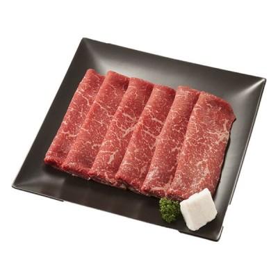 北海道 グルメ|十勝清水産 ひとまい牛ももすき焼用|産地直送/クール(冷凍)便|(代引不可)|送料無料(一部除外)