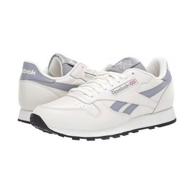 Reebok Lifestyle リーボック メンズ 男性用 シューズ 靴 スニーカー 運動靴 Classic Leather - Chalk/Cold Grey/Black