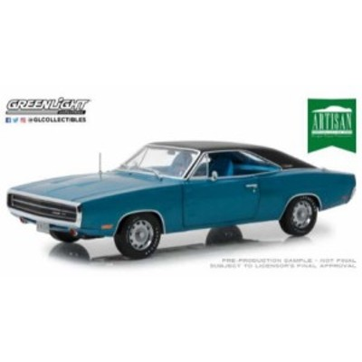 GREENLIGHT 13530 1/18 Artisan Collection - 1970 Dodge Charger 500 SE - B5 Blue
