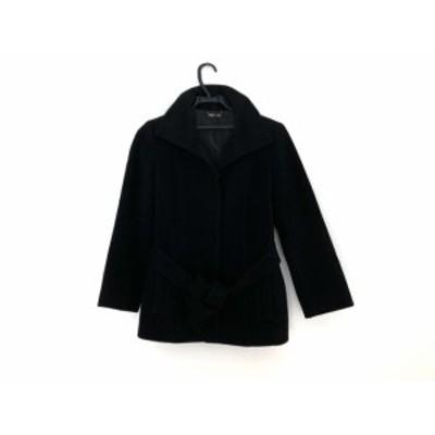 フラジール FRAGILE コート サイズ36 S レディース 黒 冬物【中古】