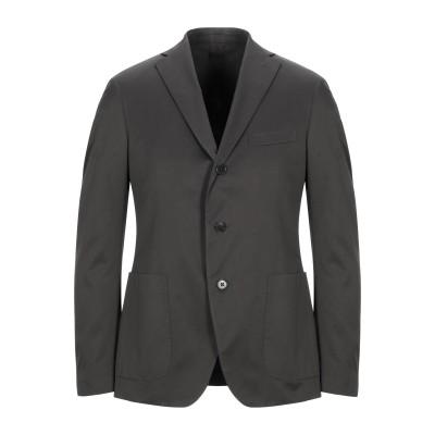 カンタレリ CANTARELLI テーラードジャケット 鉛色 48 コットン 100% / レーヨン テーラードジャケット