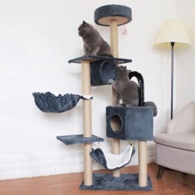 多機能多層耐摩耗性サイザル麻スクラッチコラムペット猫の巣
