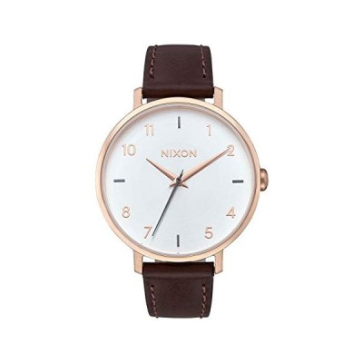 腕時計 ニクソン アメリカ A10912369-00 Nixon Women's 'Arrow' Quartz Metal and Leather Watch, Color:B